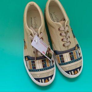 Bucketfeet lace-up Itzen print low top sneakers